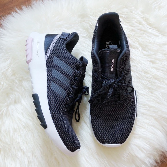 ADIDAS Women's CF Racer TR in Carbon Gray Pink